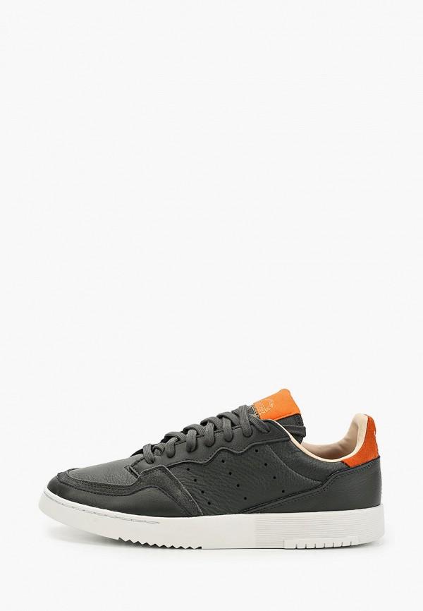 мужские низкие кеды adidas, хаки