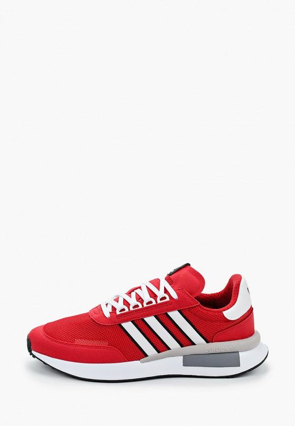 мужские низкие кроссовки adidas, красные