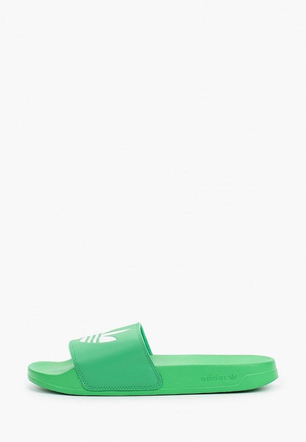 Сланцы adidas Originals adidas Originals FX5909 зеленый фото