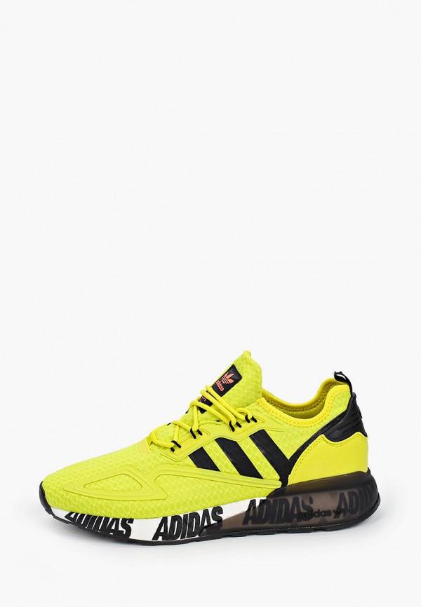 мужские кроссовки adidas, желтые