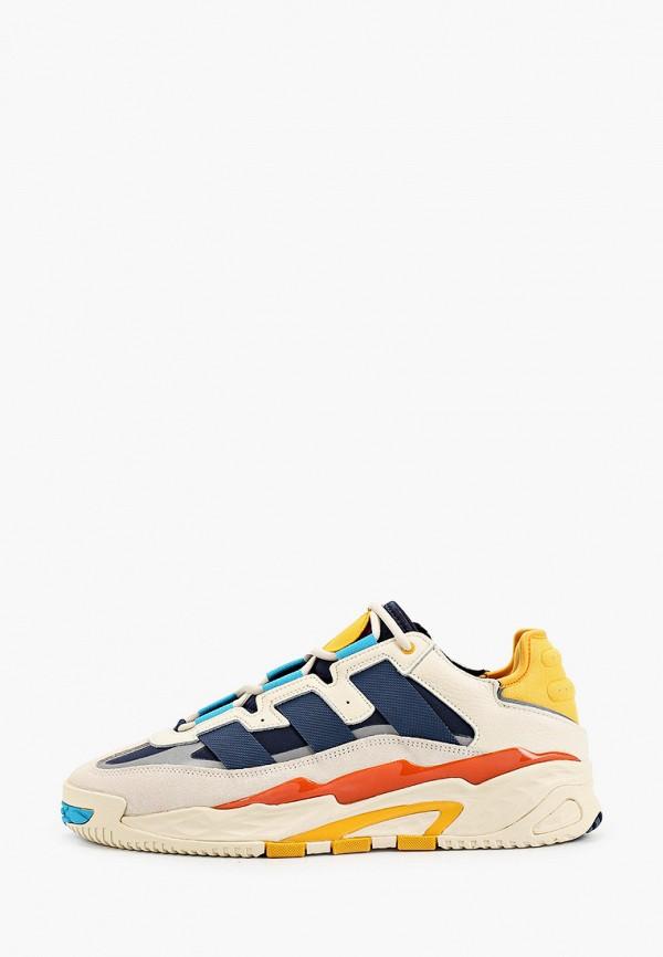 мужские низкие кроссовки adidas, бежевые