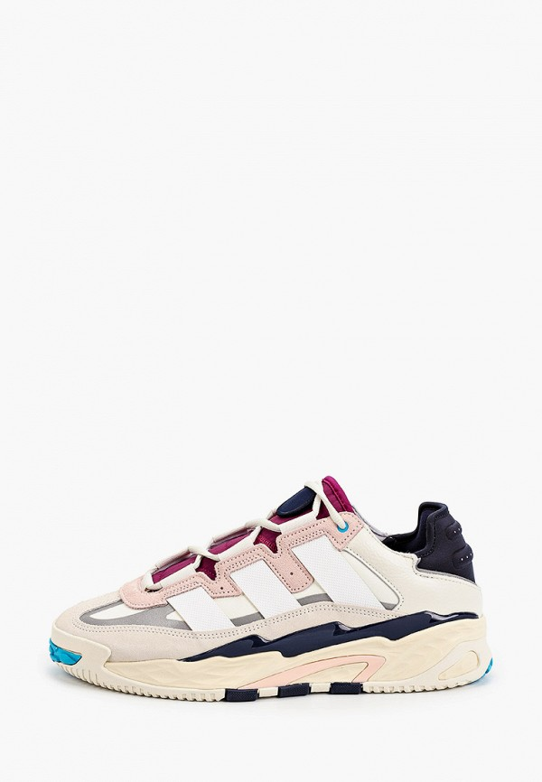 мужские низкие кроссовки adidas, разноцветные