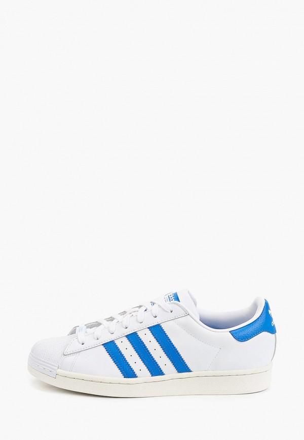 мужские низкие кеды adidas, бирюзовые