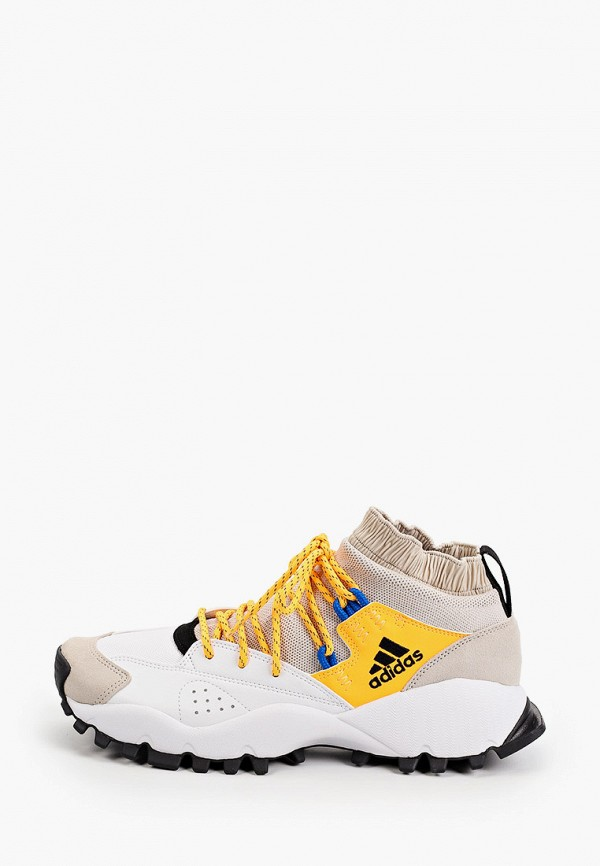 мужские высокие кроссовки adidas, бежевые