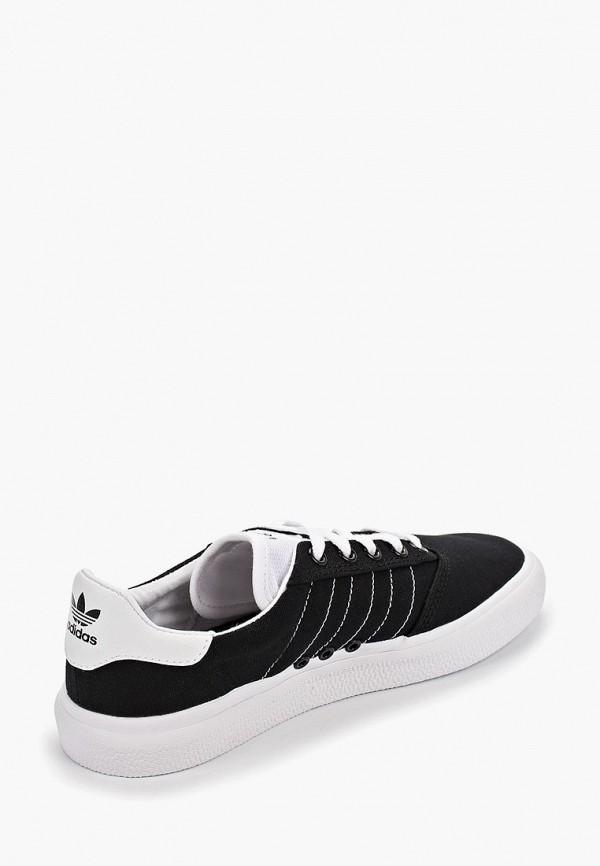 Фото 3 - мужские кеды adidas Originals черного цвета