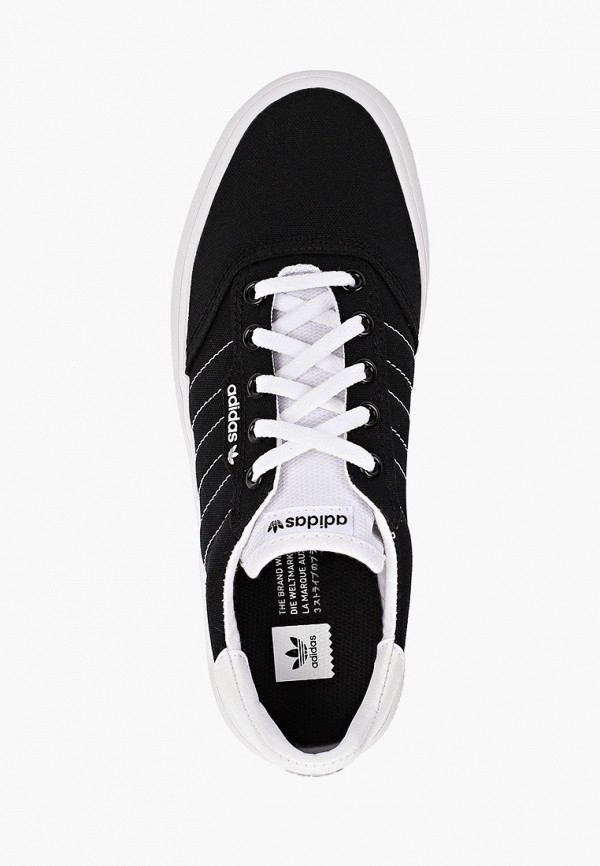 Фото 4 - мужские кеды adidas Originals черного цвета