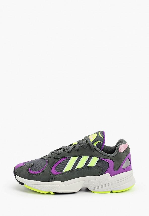 женские кроссовки adidas, хаки