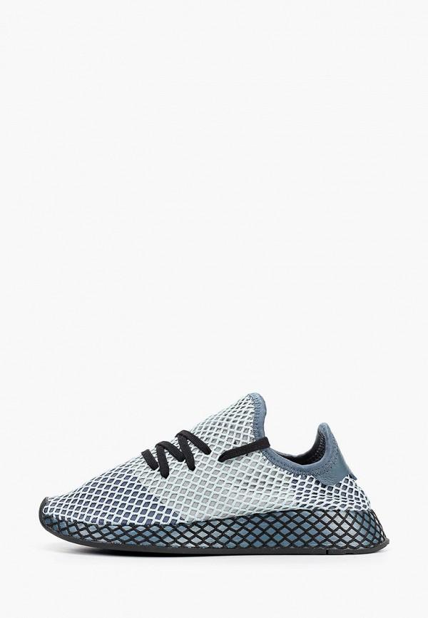 женские кроссовки adidas, серые