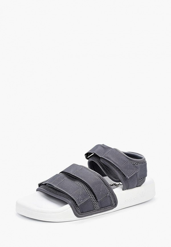 Купить Сандалии adidas Originals, adidas Originals AD093AWALPW3, серый, Весна-лето 2018