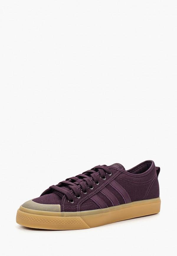 Купить Кеды adidas Originals, adidas Originals AD093AWCCZX4, фиолетовый, Осень-зима 2018/2019