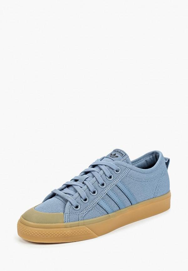 Купить Кеды adidas Originals, adidas Originals AD093AWCCZX5, голубой, Осень-зима 2018/2019