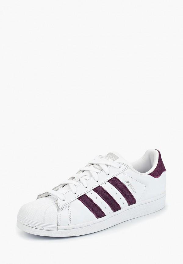 Купить Кеды adidas Originals, adidas Originals AD093AWCCZZ1, белый, Осень-зима 2018/2019