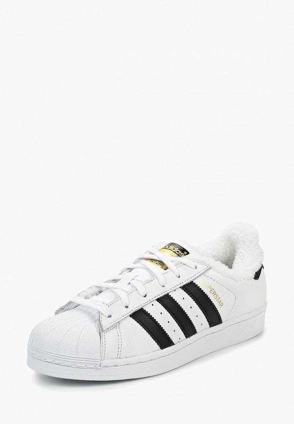 Купить Кеды adidas Originals, adidas Originals AD093AWDGIS1, белый, Осень-зима 2018/2019