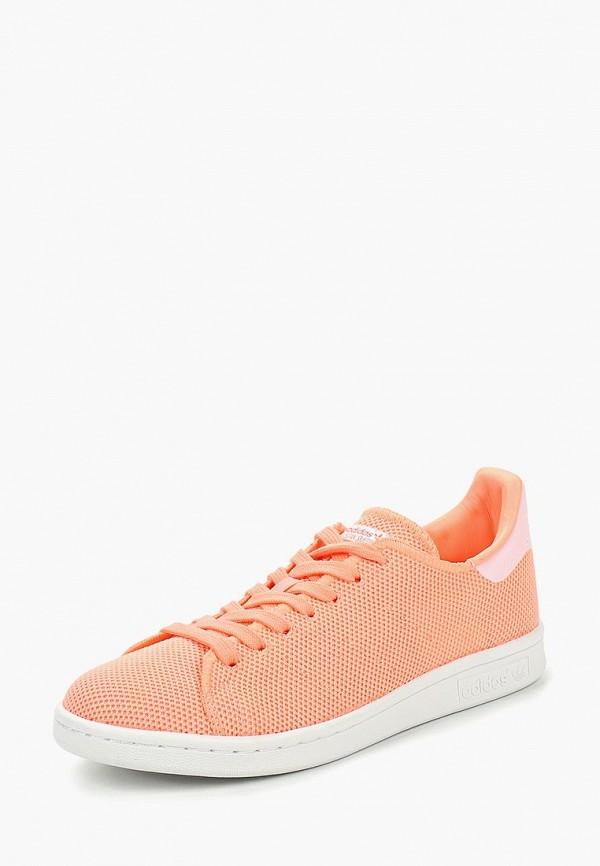 Купить Кеды adidas Originals, adidas Originals AD093AWDGIT5, коралловый, Осень-зима 2018/2019