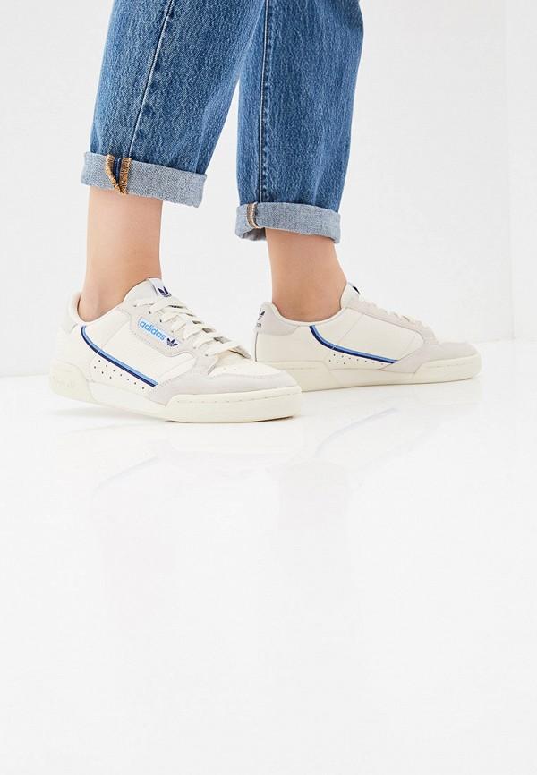 Фото 6 - женские кеды adidas Originals белого цвета
