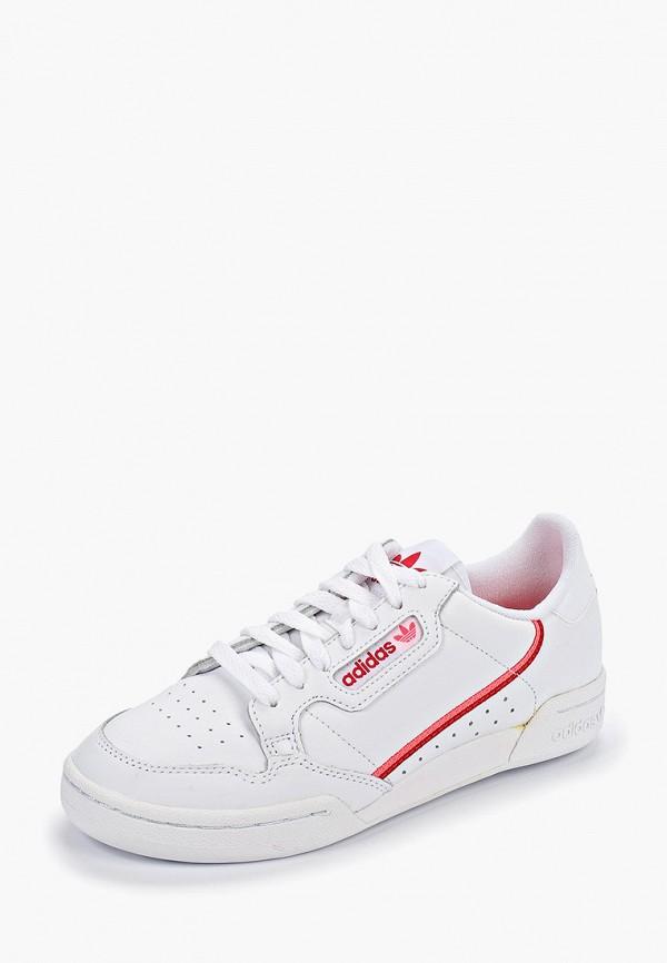Фото 2 - женские кеды adidas Originals белого цвета