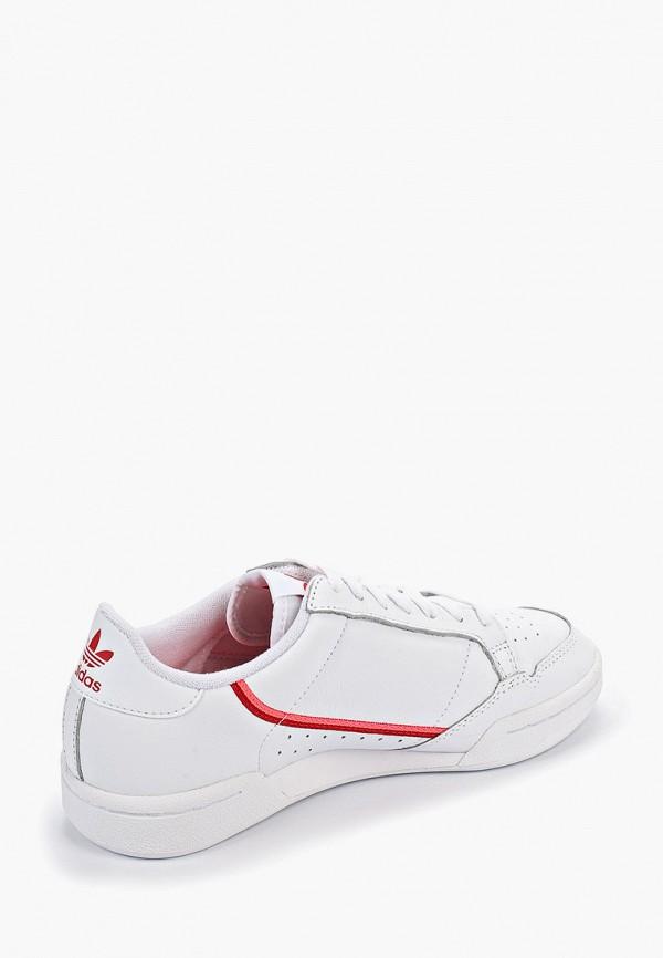 Фото 3 - женские кеды adidas Originals белого цвета