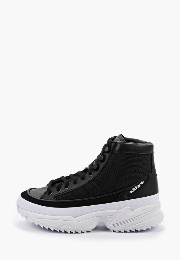 Купить женские кроссовки adidas Originals черного цвета