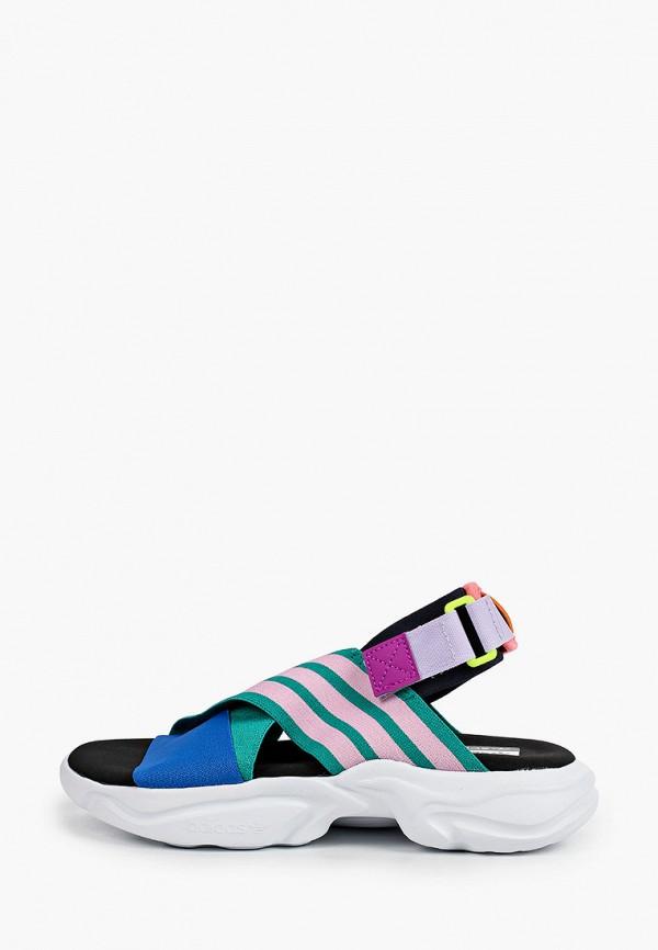 женские сандалии adidas, разноцветные