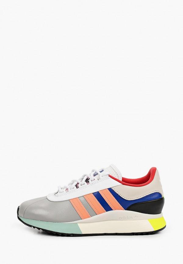 женские низкие кроссовки adidas, разноцветные