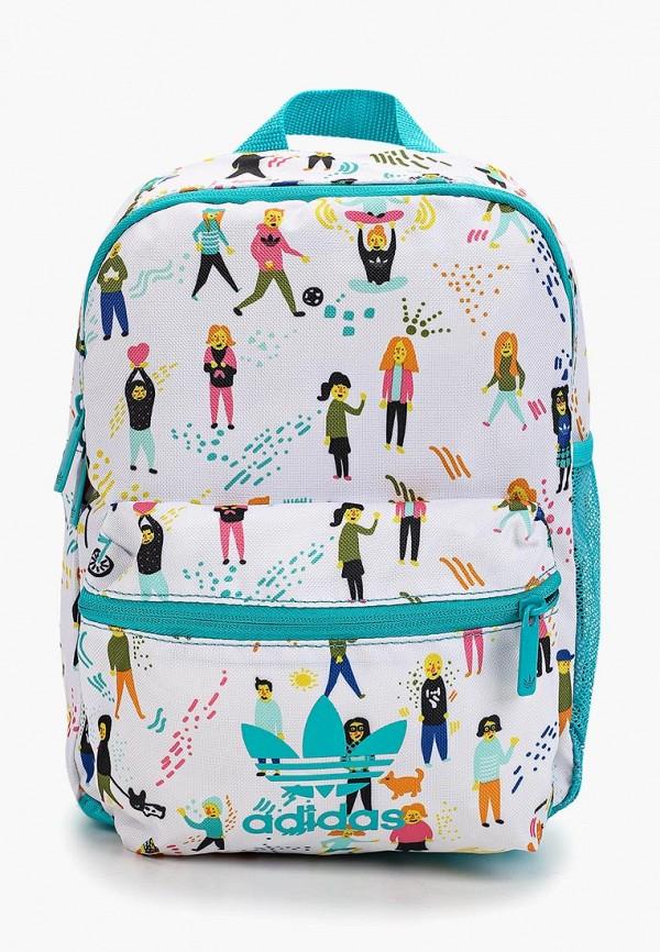 рюкзак adidas для девочки, бирюзовый