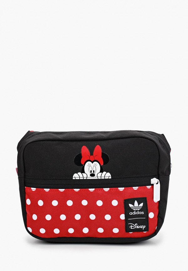 сумка adidas для девочки, черная