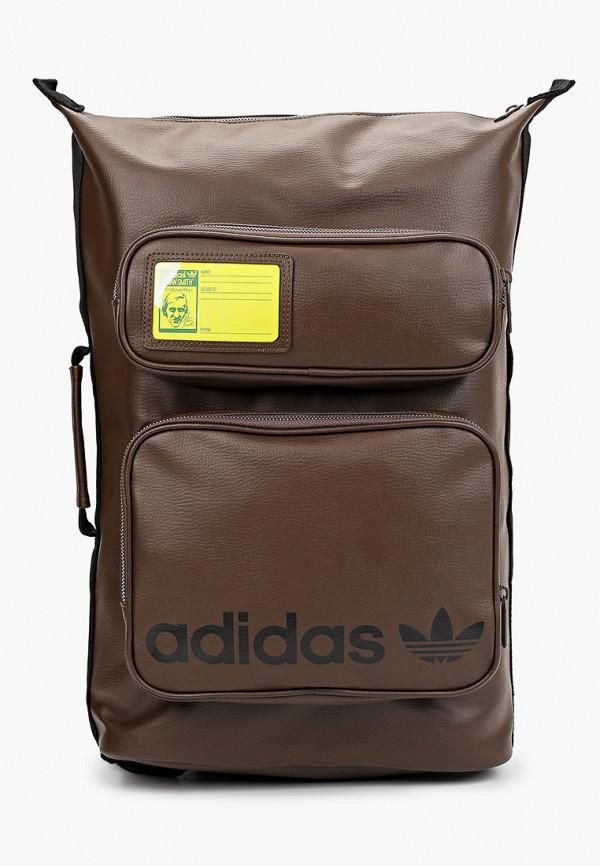 мужской рюкзак adidas, коричневый
