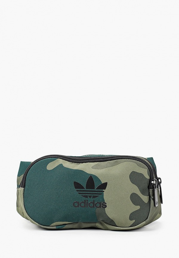 женская сумка adidas, зеленая