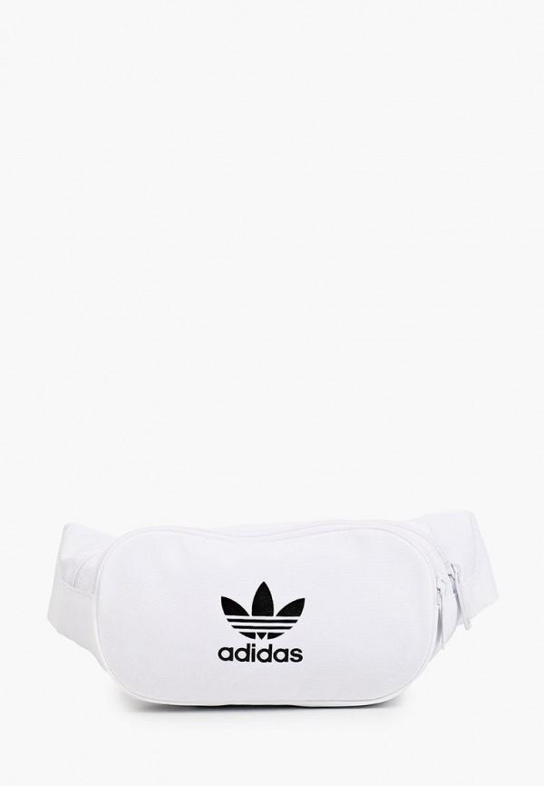 женская поясные сумка adidas, белая