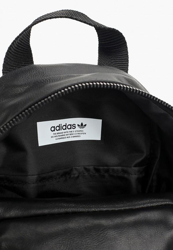 Фото 3 - женский рюкзак adidas Originals черного цвета