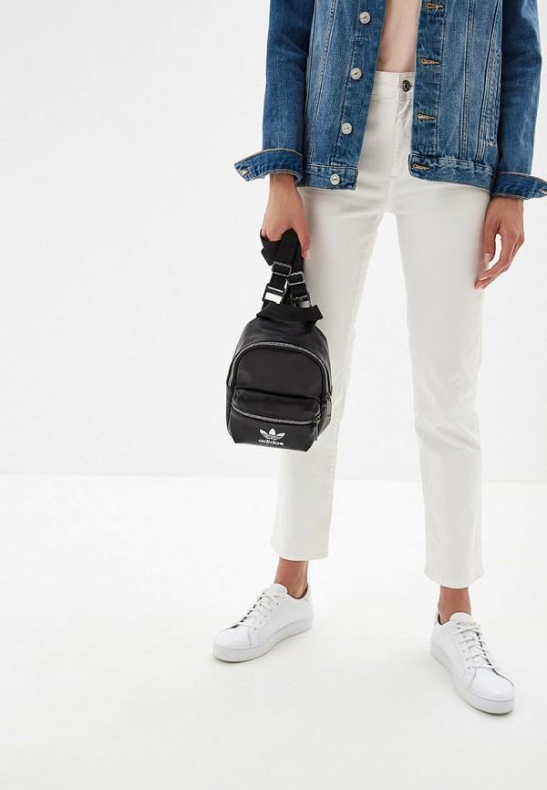 Фото 4 - женский рюкзак adidas Originals черного цвета