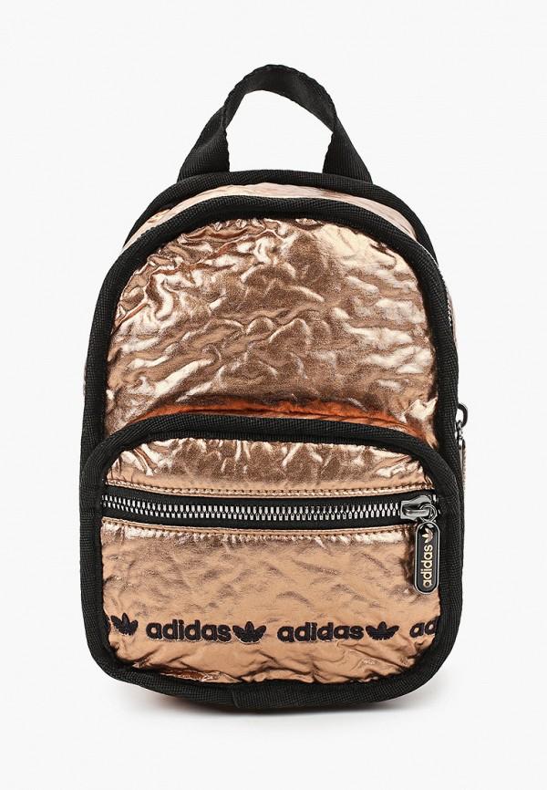 женский рюкзак adidas, золотой