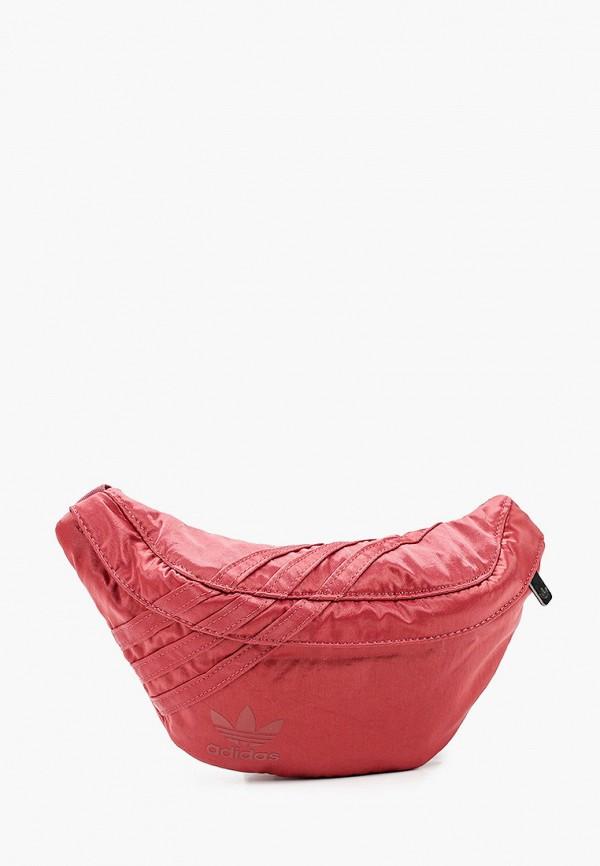 женская сумка adidas, розовая