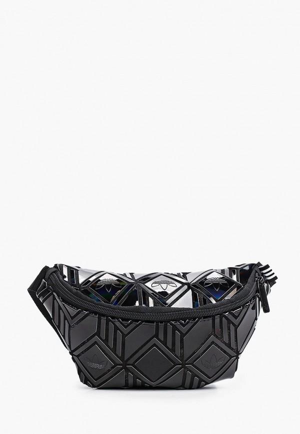 женская поясные сумка adidas, черная
