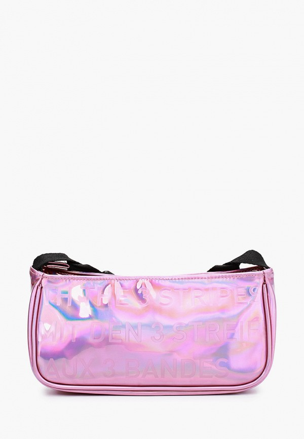 женская сумка через плечо adidas, розовая