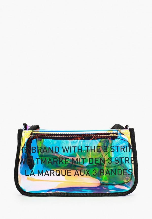 женская сумка через плечо adidas, разноцветная