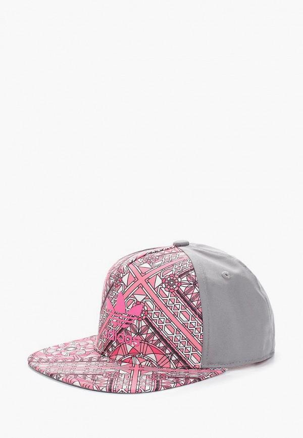 бейсболка adidas для девочки, розовая