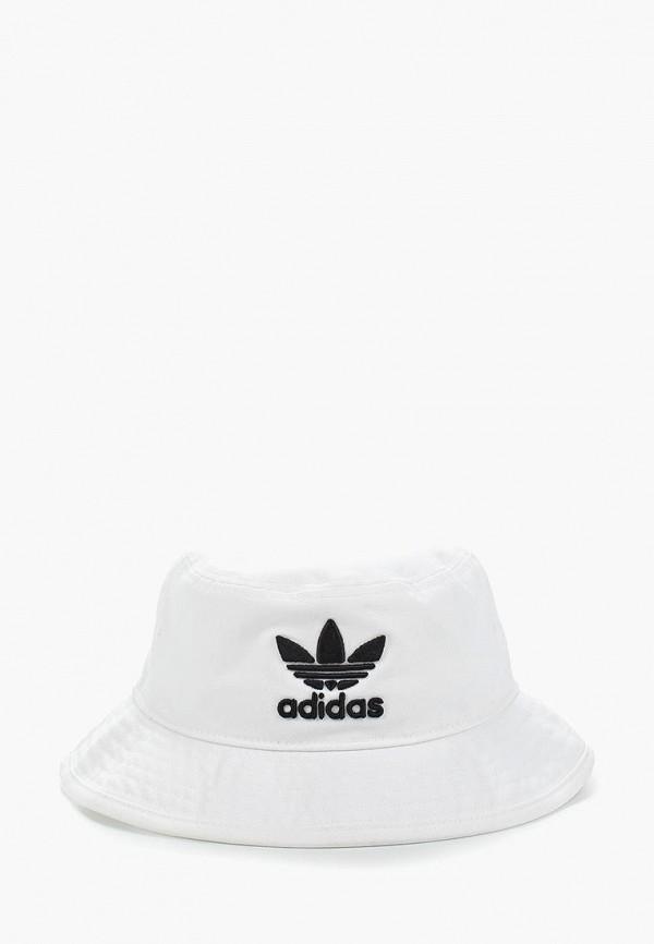 женская панама adidas, белая