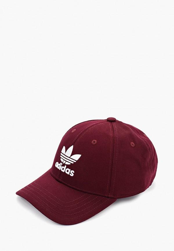 Фото - Бейсболка adidas Originals бордового цвета
