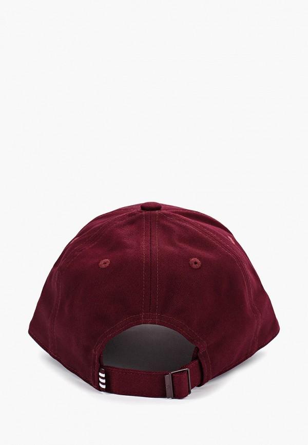 Фото 2 - Бейсболка adidas Originals бордового цвета