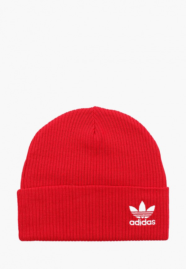 Купить Шапку adidas Originals красного цвета