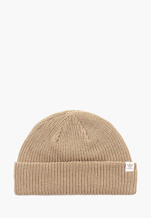 женская шапка adidas, бежевая