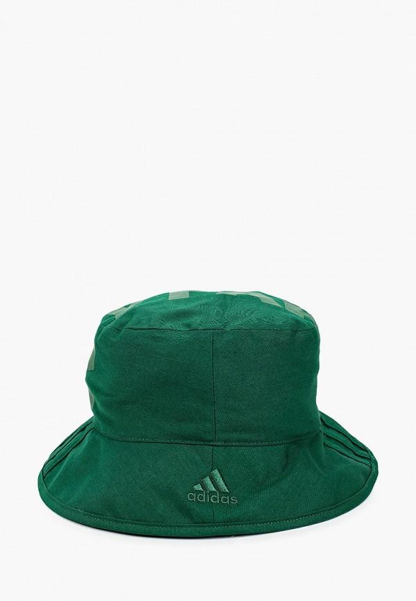 женская панама adidas, зеленая
