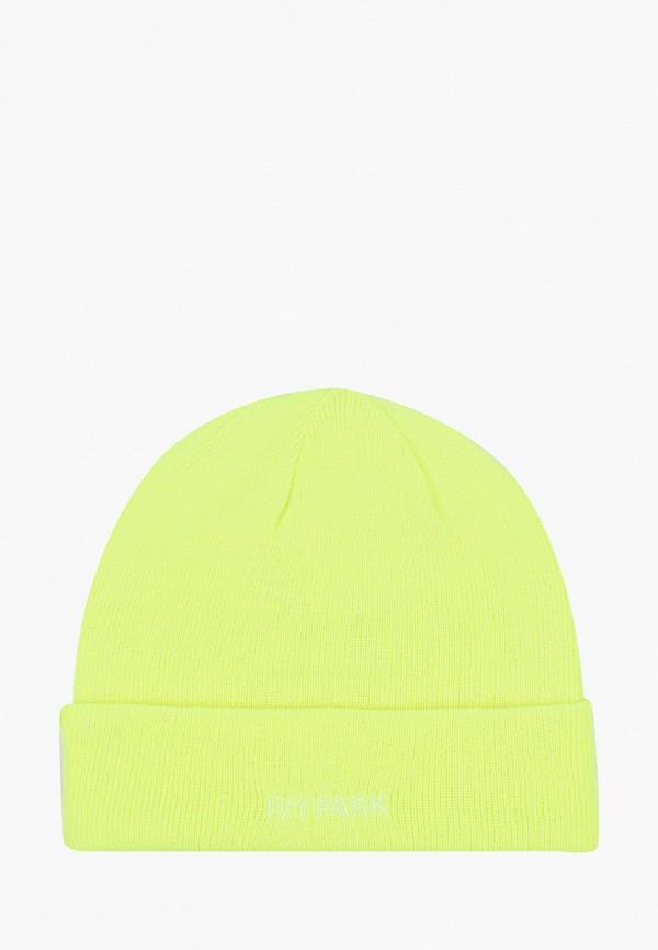 женская шапка adidas, желтая