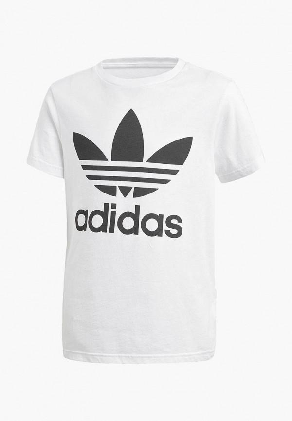 Купить Футболка adidas Originals, adidas Originals AD093EBCCZK3, белый, Осень-зима 2018/2019