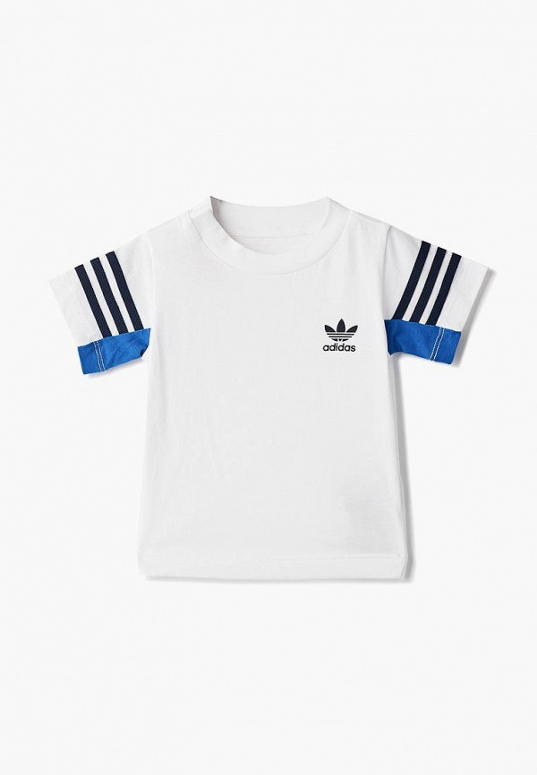 Купить Футболка adidas Originals, adidas Originals AD093EBCCZL6, белый, Осень-зима 2018/2019