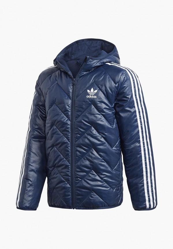 Купить Куртка утепленная adidas Originals, adidas Originals AD093EBCCZO5, синий, Осень-зима 2018/2019