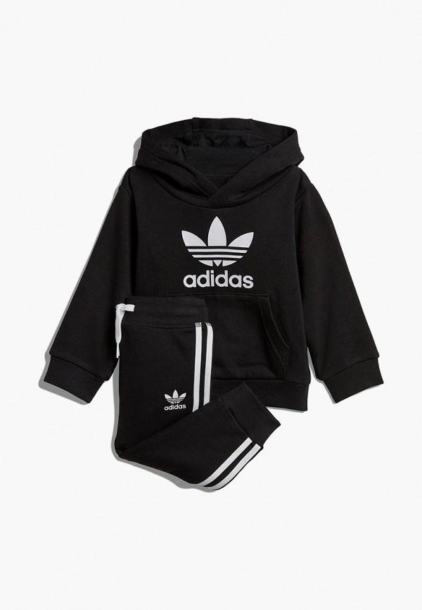 Купить Костюм спортивный adidas Originals, adidas Originals AD093EBEDUO7, черный, Весна-лето 2019
