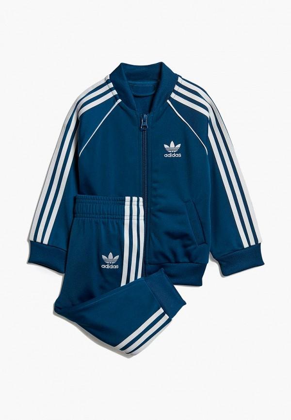Купить Костюм спортивный adidas Originals, adidas Originals AD093EBEDUO9, синий, Весна-лето 2019