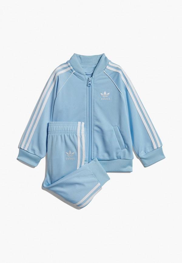 Купить Костюм спортивный adidas Originals, adidas Originals AD093EBEDUP1, голубой, Весна-лето 2019